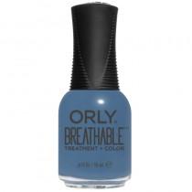 Orly Breathable De-Stressed Denim Treatment + Color Polish 18ml