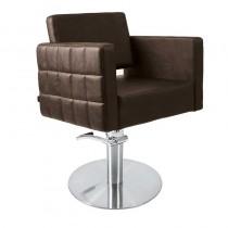 Lotus Washington Chair Brown With Square Base