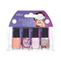 Orly Pastel City Nail Polish 4pc Mini Collection