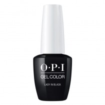 OPI Gel Color Lady In Black 15ml