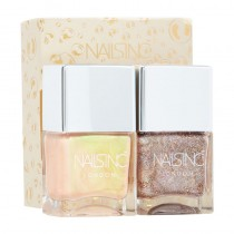 Nails Inc Champagne Duo Kit 2 x 14ml