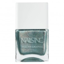 Nails Inc Cosmic Queen Holler-Graphic Nail Polish 14ml