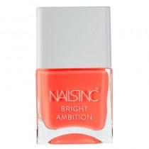 Nails Inc Strictly Bikini Bright Ambition Nail Polish 14ml