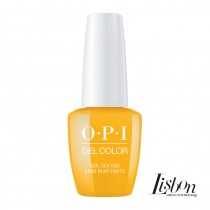 OPI Gelcolor Sun Sea and Sand in My Pants Lisbon Collection 15ml