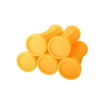 5 Pack Yellow Rollers Small 19-14mm For Babyliss PRO 30 Piece Roller Set
