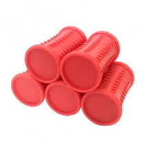 5 Pack Red Rollers Jumbo 34-30mm For Babyliss PRO 30 Piece Roller Set