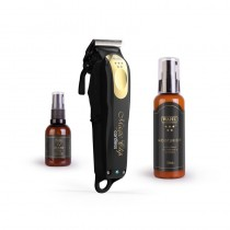 Wahl 5 Star Cordless Magic Clip Clipper Limited Edition Black and Gold