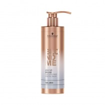 Schwarzkopf BLONDME Blush Wash Silver Pastel Shampoo 250ml