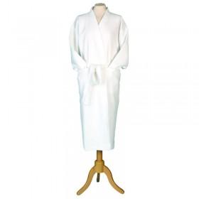 Medium Kimono Waffle Robe White