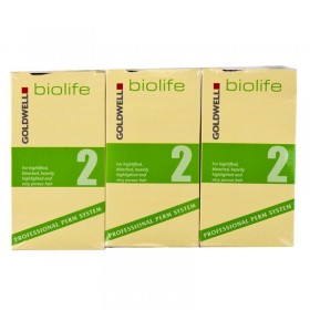 Goldwell Biolife 2 Tinted/Bleached Application x 3
