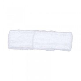 Terry Headband White