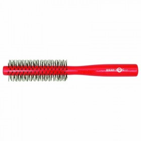 Head Jog Red Lacquer Radial Brush (107)