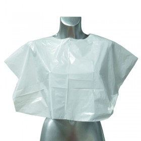 Disposable Shoulder Cape White x 100
