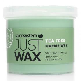 Just Wax Tea Tree Creme Wax 450g