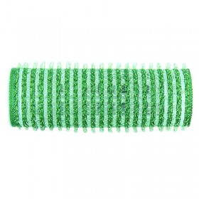 Sibel Velcro Rollers Green 21mm x 12