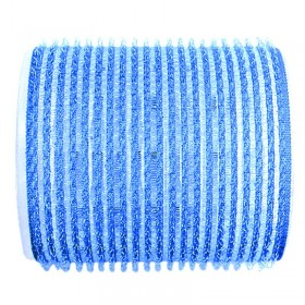 Sibel Jumbo Velcro Rollers Light Blue 56mm x 6
