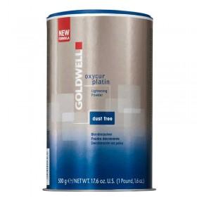 Goldwell Oxycur Platin Dust Free Blue Bleach 500g