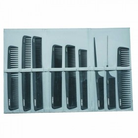 Lotus Comb Wallet Grey Including 9 Combs