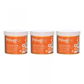 Hive Warm Honey Wax 425g Special Offer Pack
