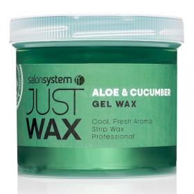 Just Wax Aloe Vera + Cucumber Gel Wax 450g