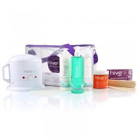 Hive Warm Honey Wax Pack + 1000cc Heater