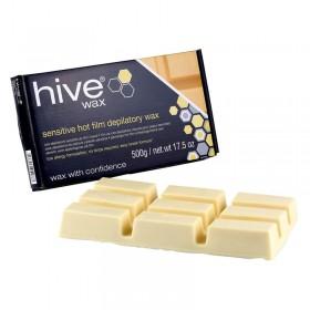 Options by Hive Sensitive Hot Film Wax 500g Block (Cream)