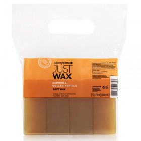 Just Wax DepiRoll Wax Roller Refill (75ml x12)