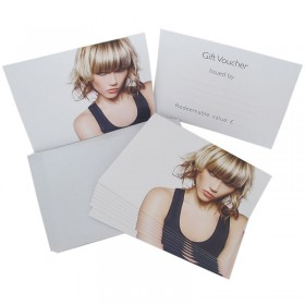 Agenda Gift Voucher Hair Pack 10