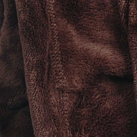 Ultrasoft Microfibre Fleece Blanket Bitter Chocolate