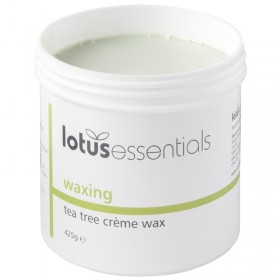 Lotus Essentials Tea Tree Creme Wax 425g