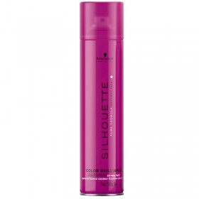 Silhouette Color Brilliance Super Hold Hairspray 750ml by Schwarzkopf
