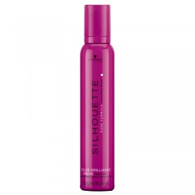 Silhouette Color Brilliance Super Hold Mousse 500ml by Schwarzkopf