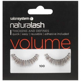 Salon System Naturalash Strip Lashes 100 Black