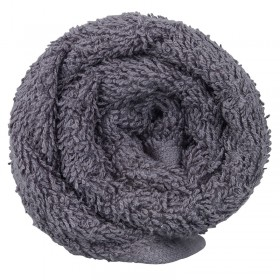 Lotus Classic Hair Towel Pewter x12