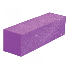 Lotus Essentials Purple Glitter Sanding Block x 1
