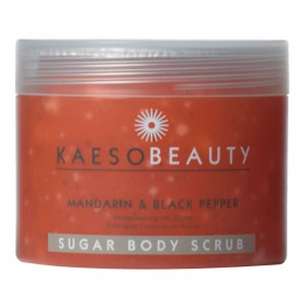 Kaeso Mandarin and Black Pepper Sugar Body Scrub 450ml