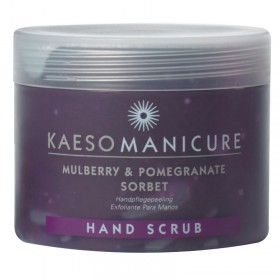 Kaeso Mulberry and Pomegranate Sorbet Hand Scrub 450ml