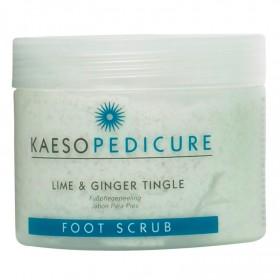 Kaeso Lime and Ginger Tingle Foot Scrub 450ml