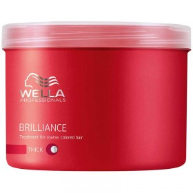 Brilliance Mask for Coarse Hair 500ml Wella Professionals