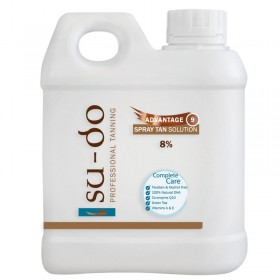 Su-do Advantage 9 Spray Tanning Solution 8% 1 Litre
