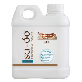 Su-do Advantage 9 Spray Tanning Solution 12% 1 Litre