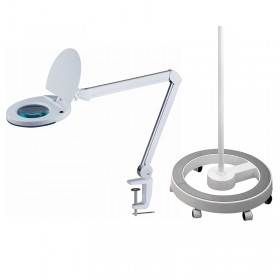 LED Magnifying Lamp with Stand