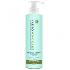 Kaeso Relieve & Soothe After Wax Lotion 495ml