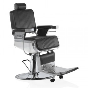 Lotus Raleigh Barber Chair Black