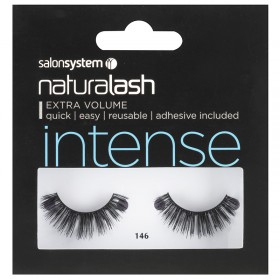 Salon System Naturalash 146 Intense Black Strip Lashes
