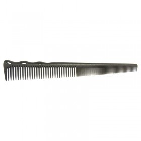 YS Park YS 254 Superflex Tapered Barbering Comb Carbon Black