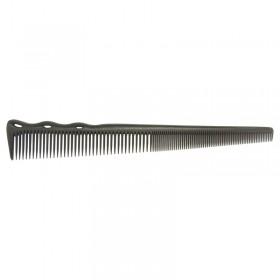 YS Park YS 254 Superflex Tapered Barbering Comb Carbon Black