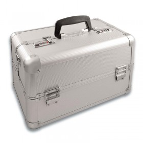 Deo Silver Beauty Case Small