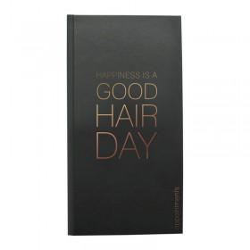 Agenda Appointment Book 3 Column Black + Rose Gold