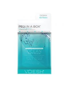 Voesh Pedi In A Box Deluxe 4 Step Ocean Refresh